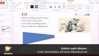 PowerPoint 2013: Tipps, Tricks, Troubleshooting Tutorial: Formen frei nachbearbeiten|video2brain.com