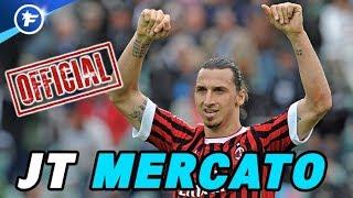 OFFICIEL : Zlatan Ibrahimovic revient à l'AC Milan | Journal du Mercato