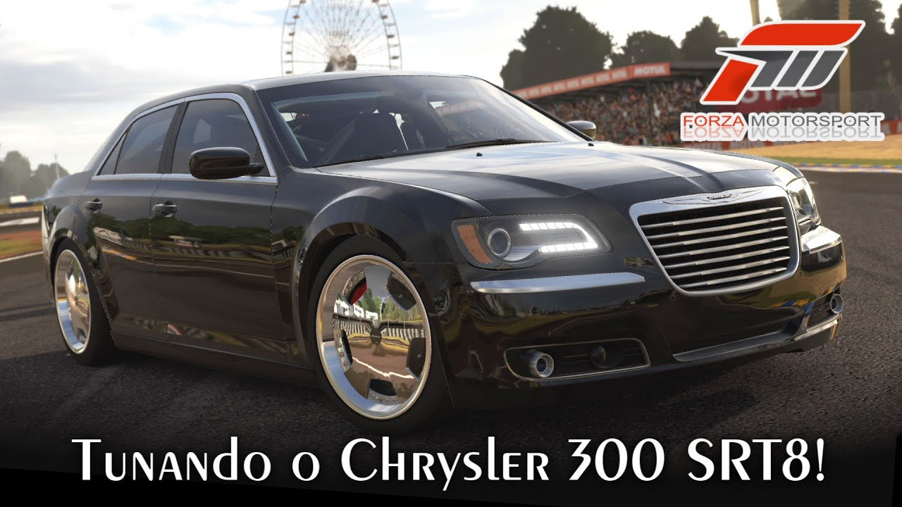 tunando o chrysler 300 srt8 estilo dub forza. Black Bedroom Furniture Sets. Home Design Ideas
