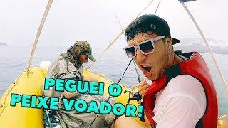 FOMOS PESCAR E PEGUEI O PEIXE VOADOR!