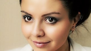 Уроки макияжа. Дневной макияж: офисный стиль(Данное видео размещено на основании лицензии Creative Commons -- Attribution (разрешено повторное использование). Основн..., 2013-12-24T21:45:49.000Z)