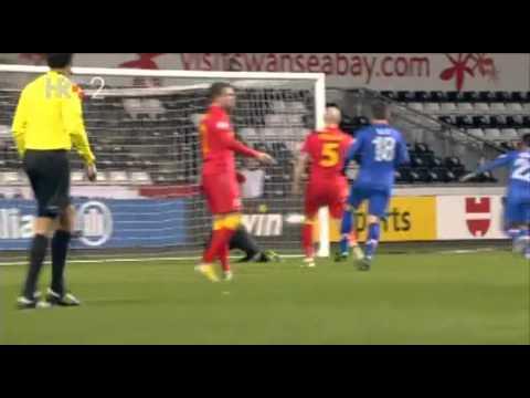 Wales - Croatia 1:2 Liberty Stadium