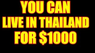 LIVE IN THAILAND FOR $1000 V253