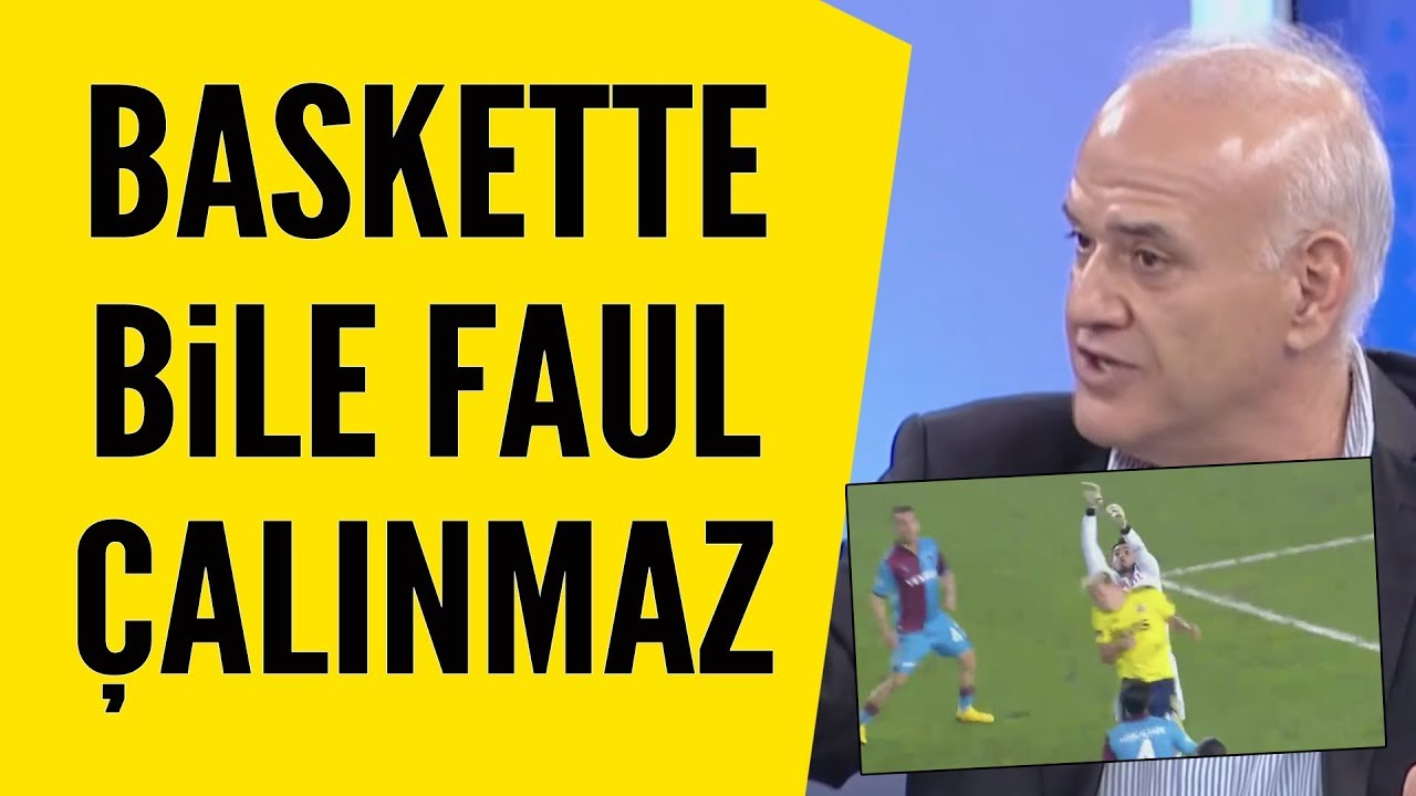 Ahmet Çakar Trabzonspor-Fenerbahçe maçı hakemi Ali Palabıyık'ı topa tuttu