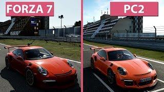 [4K] Forza Motorsport 7 vs. Project CARS 2 Graphics Comparison