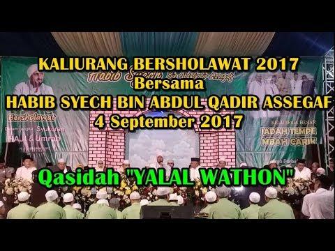 Habib Syech - YALAL WATHON (Kaliurang Bersholawat 2017)