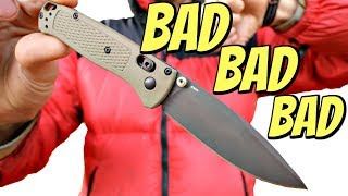 The Worst Knife I've Ever Carried - BENCHMADE BUGOUT