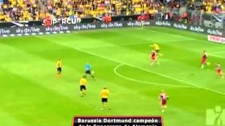 BVB derrota 2-0 al FC Bayern en la Super Copa Alemana