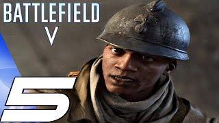 BATTLEFIELD 5 - Gameplay Walkthrough Part 5 - France, Rise of Black Soldiers (Ultra Settings)