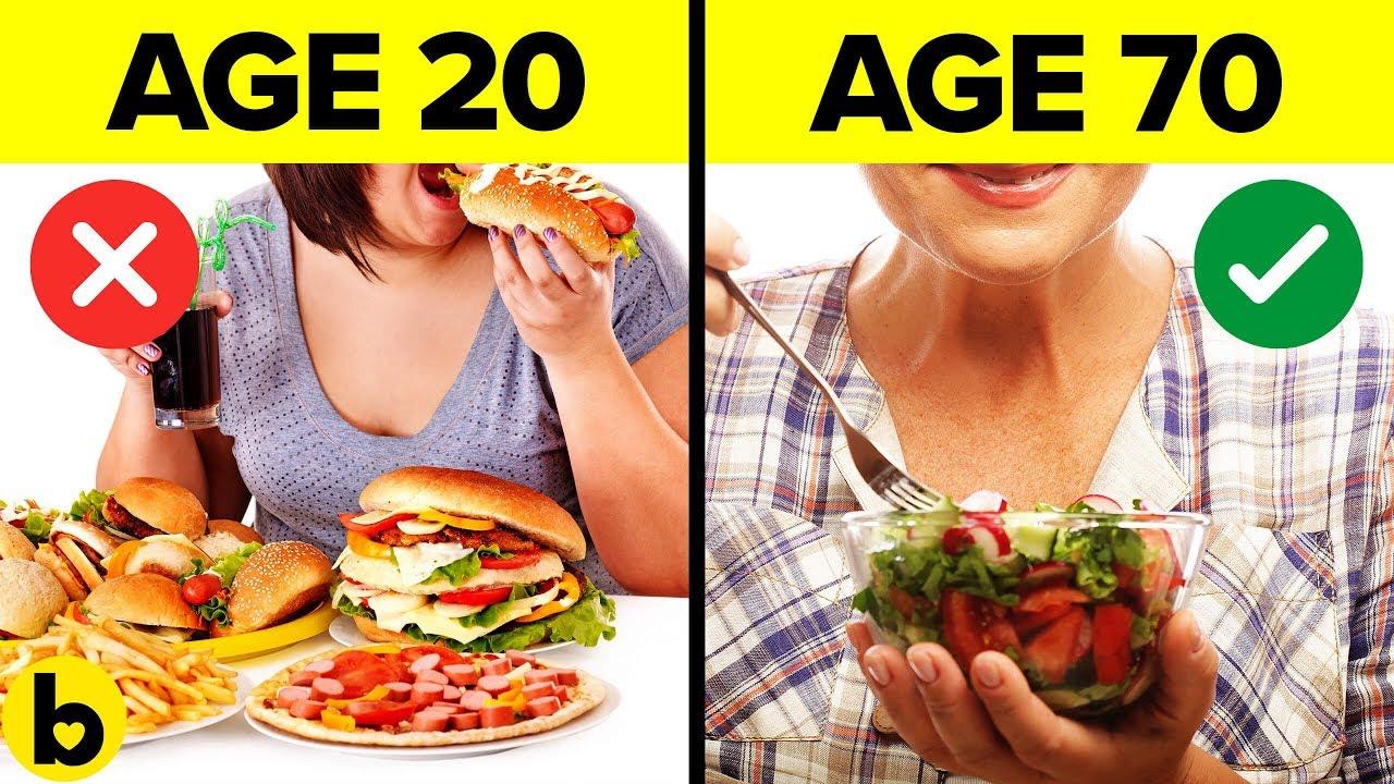 Најдобриот начин на исхрана според вашата возраст