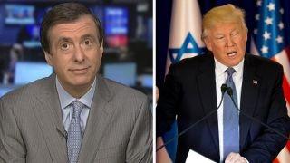 Kurtz  Can Trump the diplomat change media image?