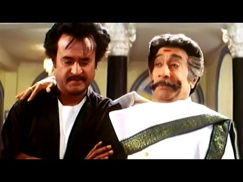 Narasimha Movie || Sivaji Ganesan Gives all His Properties Sentiment Scene