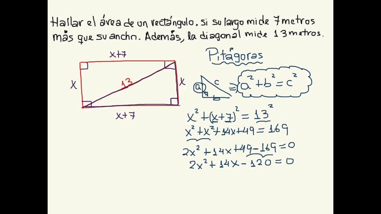 Aplicación Teorema De Pitágoras 3º De Secundaria Youtube Matematicas 3 Secundaria Teorema De Pitagoras Matematicas