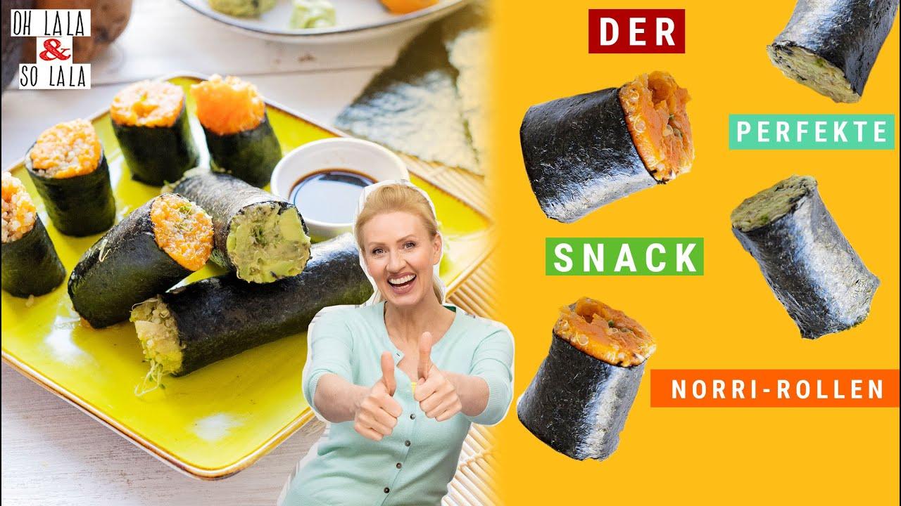 Ein mega Snack 😍 Avocado * Süßkartoffel * Sprossen & Rotalgen ⭐️ alle essentiellen Aminosäuren & JOD