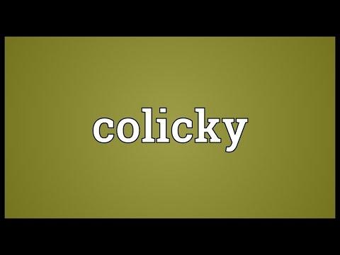 Header of colicky