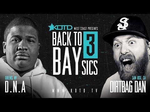 KOTD - Rap Battle - DNA vs Dirtbag Dan | #B2B3