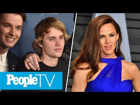 Justin Bieber Supports Patrick Schwarzenegger, Jennifer Garner Reacts To Meme On 'Ellen'   PeopleTV