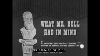 1950s TELEPHONE SALES TRAINING FILM w/ DON AMECHE  88894