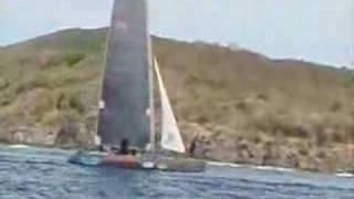 formula 40 St John USVI Sailing