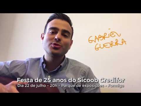 Gabriel Guerra - 25 anos Sicoob Credfor com Victor e Léo