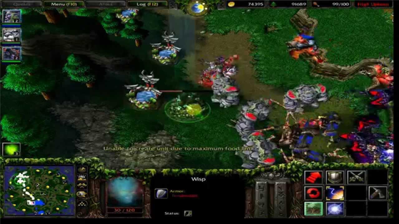 Hack Warcraft 3 Nieght Vô đối ( clip hay )