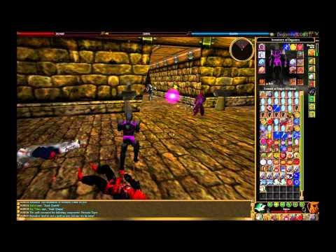 Fighting with balls - Degamra - Darktide Asheron's Call PvP