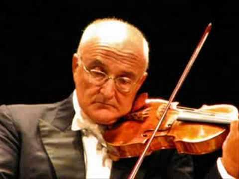 Salvatore Accardo plays Paganini Caprice No. 24