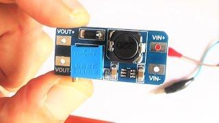 Подключаем параллельно две платы DC DC MT3608 к мощному светодиоду 100 ватт, тест.