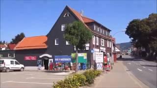 Spaziergang in Braunlage durch die Stadt im Landkreis Goslar