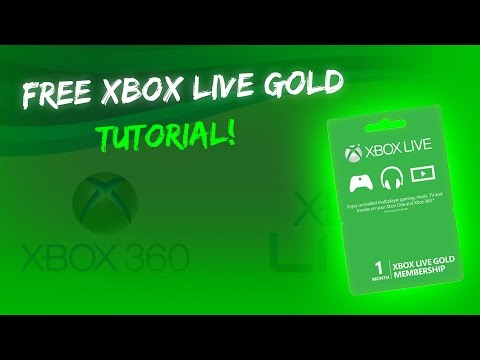 How To Get Free Month Xbox Live Gold 2015! NOT WORKING!