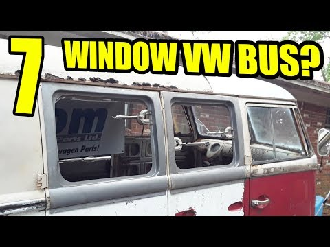 Two More Windows / Front End Rust Review - 1967 VW Bus - Gregory - 10