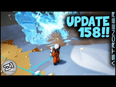 Make Astroneer Update 158 Research Curve and EXPLOSIVE Hydrazine ! Astroneer Gameplay Z1 Gaming Pictures