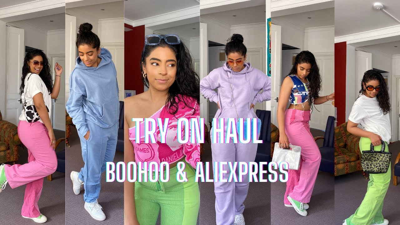 Boohoo & AliExpress Try On Haul & FREE GIVEAWAY!