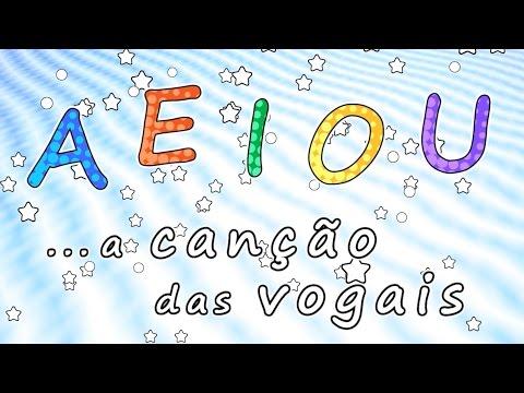 A Canção das vogais - AEIOU - Educação Infantil '- Músicas para crianças - desenhos animados do bebê
