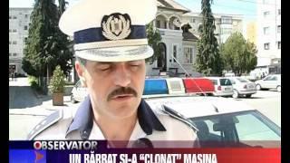 """Un barbat si-a """"clonat"""" masina"""