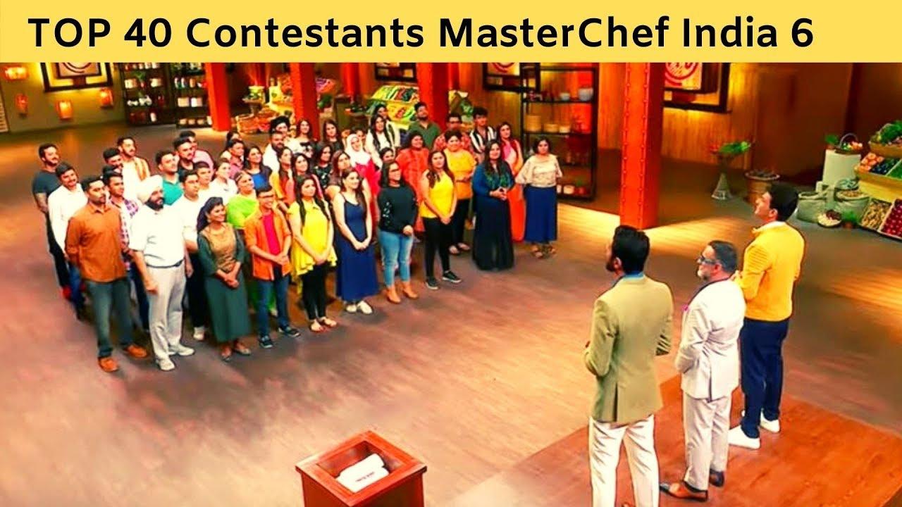 Masterchef contestants list