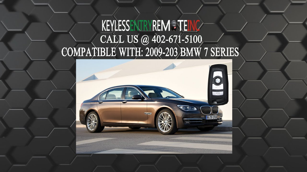 How To Replace BMW 7 Series Key Fob Battery 2009 2010 2011 2012 2013 ...