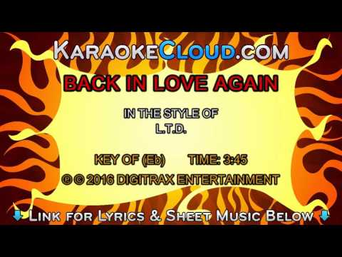 L. T. D. - Back In Love Again (Every Time I Turn Around) (Backing Track)