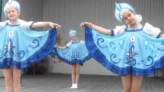 Ансамбль'Искорки' г.Барнаул с танцем Колокольчик