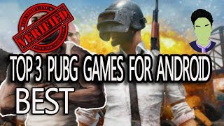 TOP 3 PUBG LIKE GAME FOR ANDROID LIKE GAME FOR ANDROID || SHARYAR SAEED