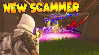 *NEW SCAM* Edit Through Map Scam! (Scammer Gets Scammed) Fortnite Save The World