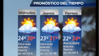 FARMACIAS DE TURNO Y CLIMA MARTES 4 FEBRERO 2017 Video