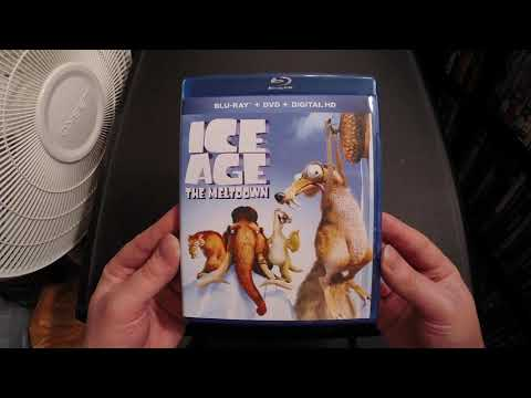 Ice Age: The Meltdown Blu-Ray Unboxing