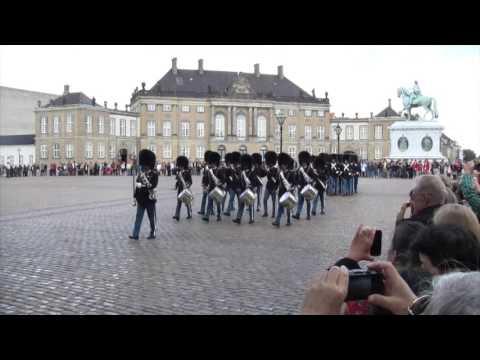 Amalienborg Palace, Copenhagen, Denmark, Funny