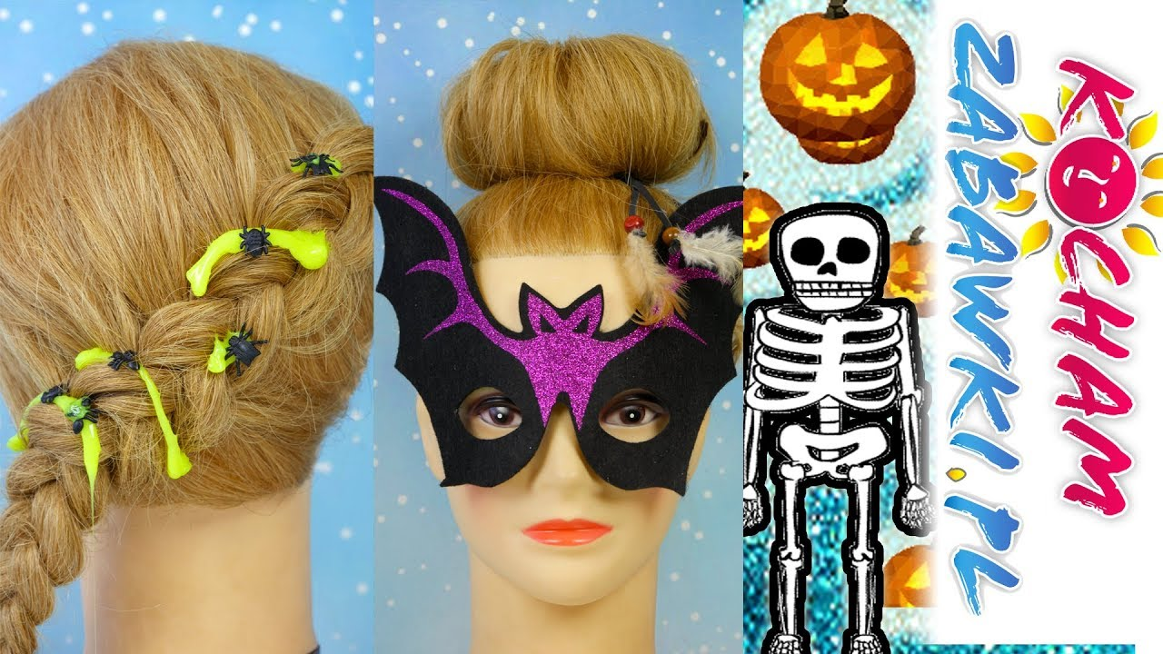 DIY • Fryzury na Halloween! • Slimy Horror & Flying Tiger • Kreatywne zabawy