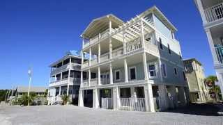 """Grayton Beach FL Rental """"The Grayton House"""" 30A Gulf Front Real Estate with Heated Private Pool"""