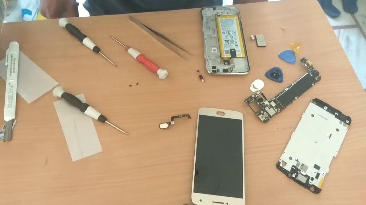 Repair Moto G5 Plus and Part Replacement, Display Repair, Repair Sim Tool,  How to Open Moto G5 Plus