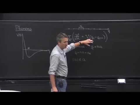 Lecture 2  Part 1  Phonons, Debye Theory