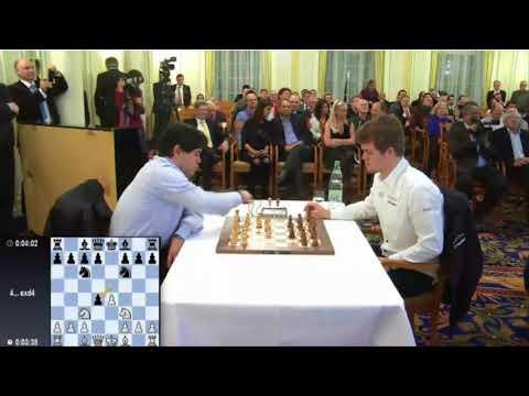 Nakamura vs Carlsen 2014 Zurich Blitz Chess