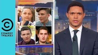 Parkland Teens Fight For Tougher Gun Control | The Daily Show With Trevor Noah